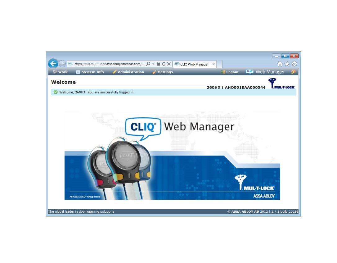 CLIQ® Web Manager Software